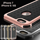 Shockproof Rubber Hybrid Hard Thin Case Cover for iPhone 5S/ SE/ 6/ 6S/ 7/ Plus