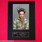 ROBERT PATTINSON Mounted Signed Photo Reproduction Autograph Print A4 27