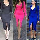 New Plus Size Autumn Long Sleeve Women Casual Sexy Club Bandage Dresses Vestido