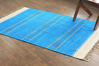 bunkar's Handmade Rayon Cotton Reversible Rug : Size 4ft x 6ft (approx.)