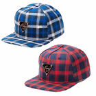 Hater Flannel Plaid Snapback Cap