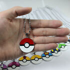 Lot Pokemon Pikachu Jewelry Pendant Chain Necklaces Party Fashion Jewelry M77