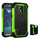 Hybrid Rugged Rubber Hard Shockproof Cover Case For Samsung Galaxy S5 Active