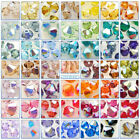 Genuine Swarovski 5328 Xilion Bicone Crystal 170+ Colours & Many Sizes *R-W*