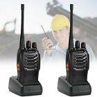 2/4/6 Baofeng BF-888S UHF 400-470MHz Walkie Talkie Radio + Earpiece Charger