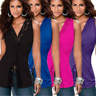 Sexy Women Fashion Summer Vest Top Sleeveless Blouse Casual Tank Tops T-Shirts