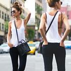 COOL Women Casual Shirt Sexy Sleeveless Loose Vest Tank Tops Blouse T-shirts