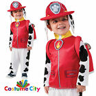 Official Paw Patrol Marshall Toddlers Childs Halloween Fancy Dress Costume