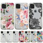 Rubber Pattern Soft TPU Silicone Back Case Cover For Apple iPhone X 8 7 Plus 6s