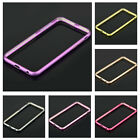 New Aluminum Metal Frame Protective Back Case Cover For iphone 6/6Plus 4.7/5.5""