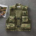 Men's Camouflage Travelers Fishing Hunting Photography Vests CS Outdoor Jacket