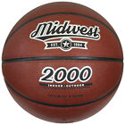 Midwest 2000 Basketball Tan Laminated PVC Surface Rubber Bladder Ball rrp£21