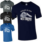 Father & Son Best Friends For Life T-Shirt - Fist Punch Fathers Day Dad Mens Top