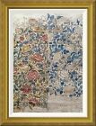 Global Gallery 'Design For Chintz: Rose' by William Morris Framed Graphic Art