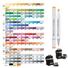 Standard 160 Colors Art Design Markers Set Sketch Double Ended Marker Pens