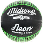 Midwest Neon Basketball Black/Green All Sizes Available