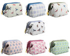 TaylorHe Make-up Bag Cosmetic Case Toiletry Bag Printed PVC Zipped Top Small