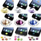 Home Button Sticker Diamond Pattern Cute Print for Apple iPhone iPad iPod Touch