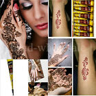 Natural Herbal Henna Cones Temporary Tattoo kit Body Art Paint Mehandi Ink