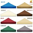 10x10'  Ez Pop Up Replacement Canopy Top Patio Pavilion Gazebo Sunshade  Cover
