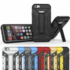 Anti shock Hybrid hard case cover with stand card slot for iPhone 5 6 6s 6PLUS