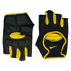 Nike Mens Lightweight Cycling Fitness Gym Gloves Black Yellow Sports 9092253 R