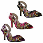 Womens Smart Wedding Party Prom Evening Bridesmaids High Heel Shoes Sizes 3 to 8