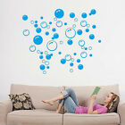 Bubbles Printing Design Removable Wall Sticker Tile Decal Mural Home Room Decor