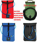 WATER BLADDER INSULATED NEOPRENE POUCH COVER + 2L or 3L HYDRATION