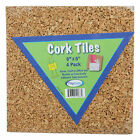 Acco Brands, Inc. Cork Tiles Set of 4