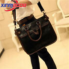 Men's Leather Messenger Bags Shoulder Bag Vintage Briefcase Laptop Bags
