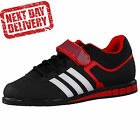 Adidas Powerlift 2 Black/White/Red Weightlifting Shoes Boots UK Sizes RRP£90