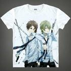Anime Blast of Tempest Fuwa Mahiro White Cosplay Costume T-shirt Unisex