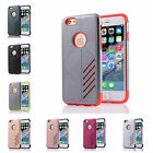For New iPhone 6/6S 4.7inch Hard Case Bicolour Tough Armour Rubber Plastic Cover