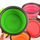 Newly Popular  Silicone Travel Dog Bowl Collapsible Food Water Pet Travel Bowl