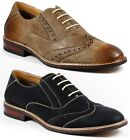 Ferro Aldo Mens Lace Up Wing Tip Dress Classic Shoes w/ Leather lining M-19270