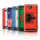 STUFF4 Phone Case/Back Cover for Huawei Y3II/Y3 2 /Flags