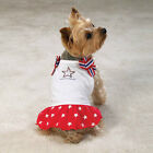 Casual Canine ADORABLE Patriotic Pup Dog Dress LIMITED SIZES! SO CUTE!