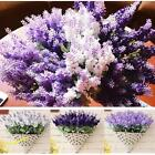 10Heads Fake Romantic Silk Lavender Flower Home Wedding Garden Floral Decor DIY