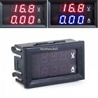 Lots Dual Display LED Digital  Voltmeter Ammeter Panel Amp Volt Gauge DC 0-100V