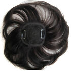"Base 3.3""*3.3"" Human Hair Topper  Hairpiece Toupee Fringe Bang Top Replacement"