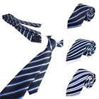 Colorful Striped Business Wedding Classic Twill Style Necktie Men's New Tie
