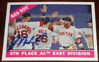 WILL MIDDLEBROOKS SIGNED AUTO'D 2015 TOPPS HERITAGE CARD #259 BOSTON RED SOX