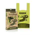 Earth Rated FLAT POOP BAGS W/ HANDLE Dog Waste 120 bags Lavender Scented