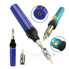 Professional Cordless Butane Torch Gas Solder Pen Iron Welding Tool Refillable