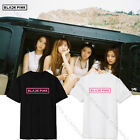 KPOP BLACKPINK SQUARE ONE Tshirt JENNIE T-shirt Tee Unisex JISOO Cotton ROSE