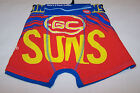 Gold Coast Suns AFL Mens Printed 2 Pack Trunk Briefs Select Size M L XL XXL New