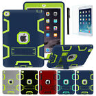 """Shockproof Heavy Duty Rubber With Stand Cover Case For iPad Pro 9.7"""" / Pro 12.9"""""""