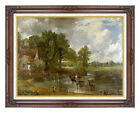 Framed The Hay Wain John Constable Painting Reproduction Canvas Giclee Art Print