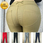 Women Skinny Stretchy High Waist Leggings Jeans Pencil Trousers Pants Cotton